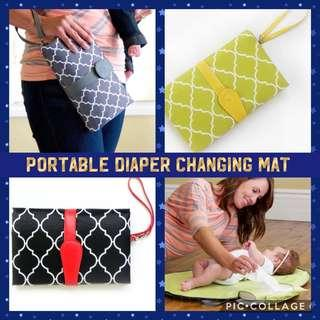 🚚 Portable Diaper Changing Mat