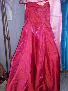 Pre❤ Red Prom Gown