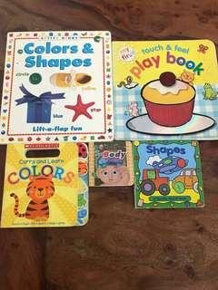 Childrens Educational Books, selling as a set