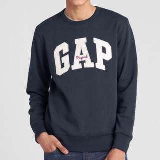 🚚 Gap logo 大學T