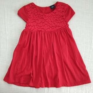 Baby Gap Red Dress
