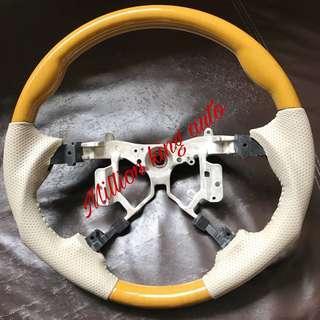 Toyota Estima sport steering