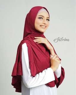 ❤Sabrina Instant❤ Shawl Hijab Tudung