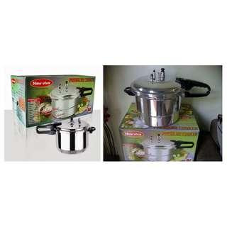 Panci Presto viva Preasure Cooker 8 Liter Ready UK 10 & UK 12 Liter Termurah