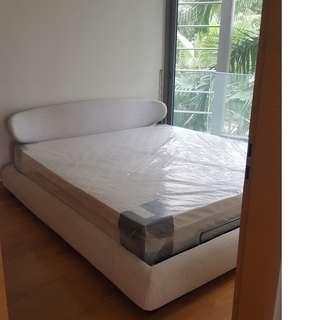 Used King size bed with storage