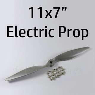 "🚚 GEMFAN 11x7"" Electric Propeller with adapter, CCW / 11070E. Code: GF11070E"
