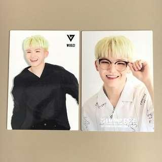 OFFICIAL SEVENTEEN WOOZI DIAMOND EDGE JAPAN TRADING CARD