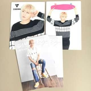 OFFICIAL SEVENTEEN SEUNGKWAN DIAMOND EDGE JAPAN TRADING CARD