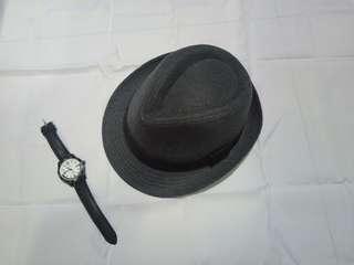 Unisex Gray Fedora Hat