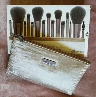 BH Cosmetics Lavish Elegance 15 Piece Brush Set NEW
