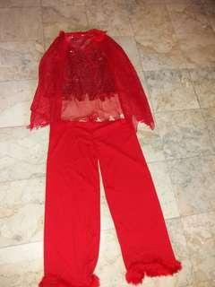 Red devil costume