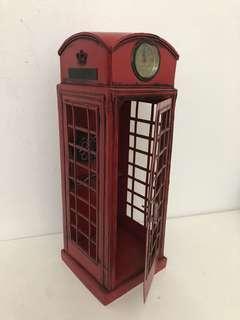 London Telephone Kiosk Tin Toy