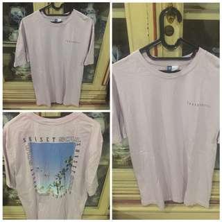 Tshirt H&M SUNSET SOUL