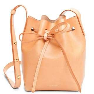 Mansur Gavriel Cammello Mini Mini Bucket Bag
