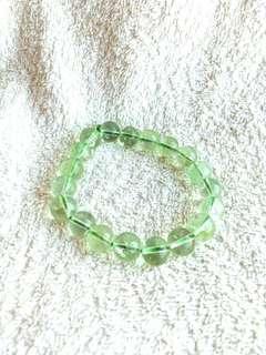 🚚 Natural Olive Crystal Bracelet 全天然的橄榄石手链