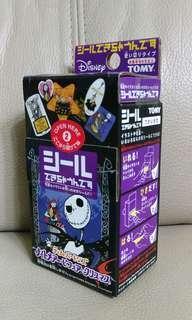 日本Tomy x disney DIY Halloween jack sticker machine 自製貼紙機玩具 怪誕城之夜