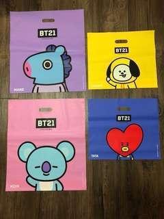 Bt21 Shopping bag