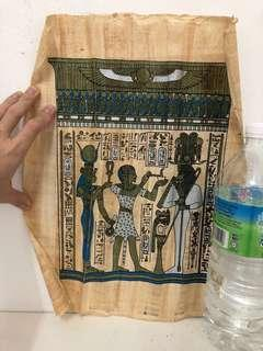 Egypt  Papyrus Paper painting