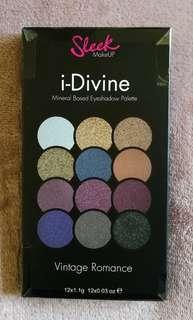 Sleek I-Divine Vintage Romance Eyeshadow Palette NEW