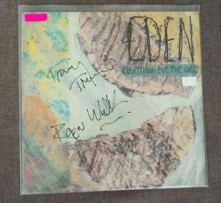 arthlp EVERYTHING BUT THE GIRL Eden Signed/Autographed LP Record Vinyl