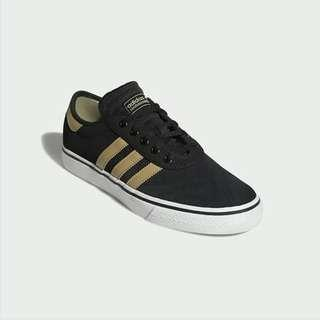 ADIDAS ADIESE SKATEBOARDING BLACK/GOLD