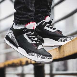 [STEAL] Air Jordan 3 Black Cement