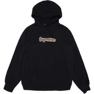 Supreme Gonz Logo Hoodie Black