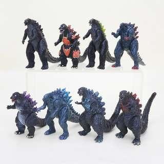 Godzilla mini figures