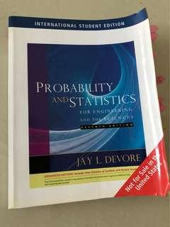 Probability and statistics for engineering