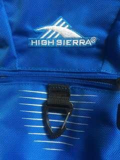 High Sierra backpack 護脊書包