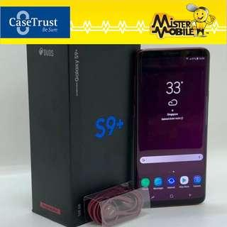 Galaxy S9 Plus 128GB Burgundy Red (Pre Owned)