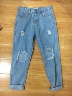 🌟Distressed Denim Jeans