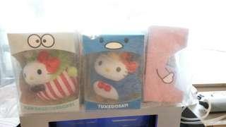Hello Kitty Bubbly day Crossover Doll Set 公仔