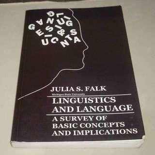 Linguistics and Language