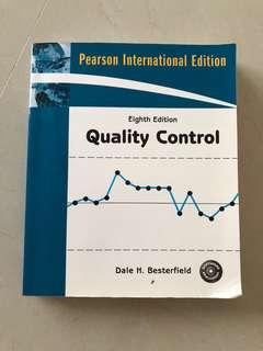 Quality Control Eight Edition