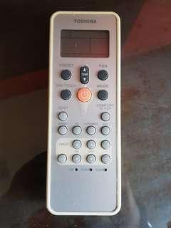 TOSHIBA Aircon remote control