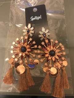 Sportsgirl statement earrings