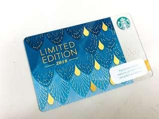 Limited Edition Starbucks Anniversary Card