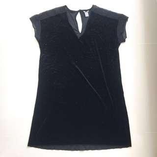 LINDEX Velvet Dress