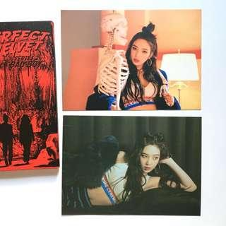 (Official) The Perfect Red Velvet Joy Postcard Set