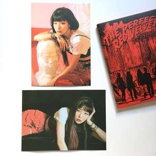 (Official) The Perfect Red Velvet Seulgi Postcard Set