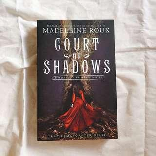 BRAND NEW Court of Shadows