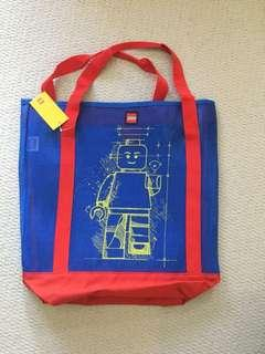 Lego Beach Tote Bag