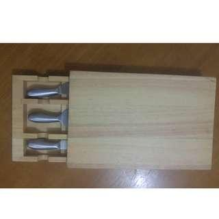 Cheese board set (NEW)