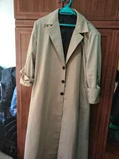 BROWN COAT (POSTING AVAILABLE)