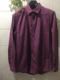 TOPMAN Long Sleeves Men's Polo Shirt