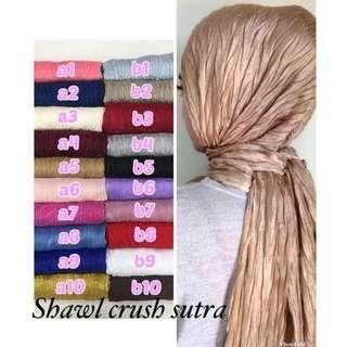 Shawl Crush Sutra