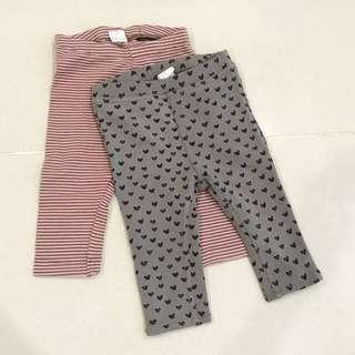 H&M Baby Girl Leggings