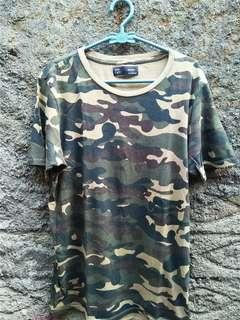 T-shirt Kaos Army Berskha