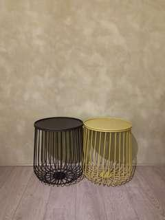 Cage Wire Side Table